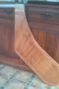 N10 Glassed Rudder